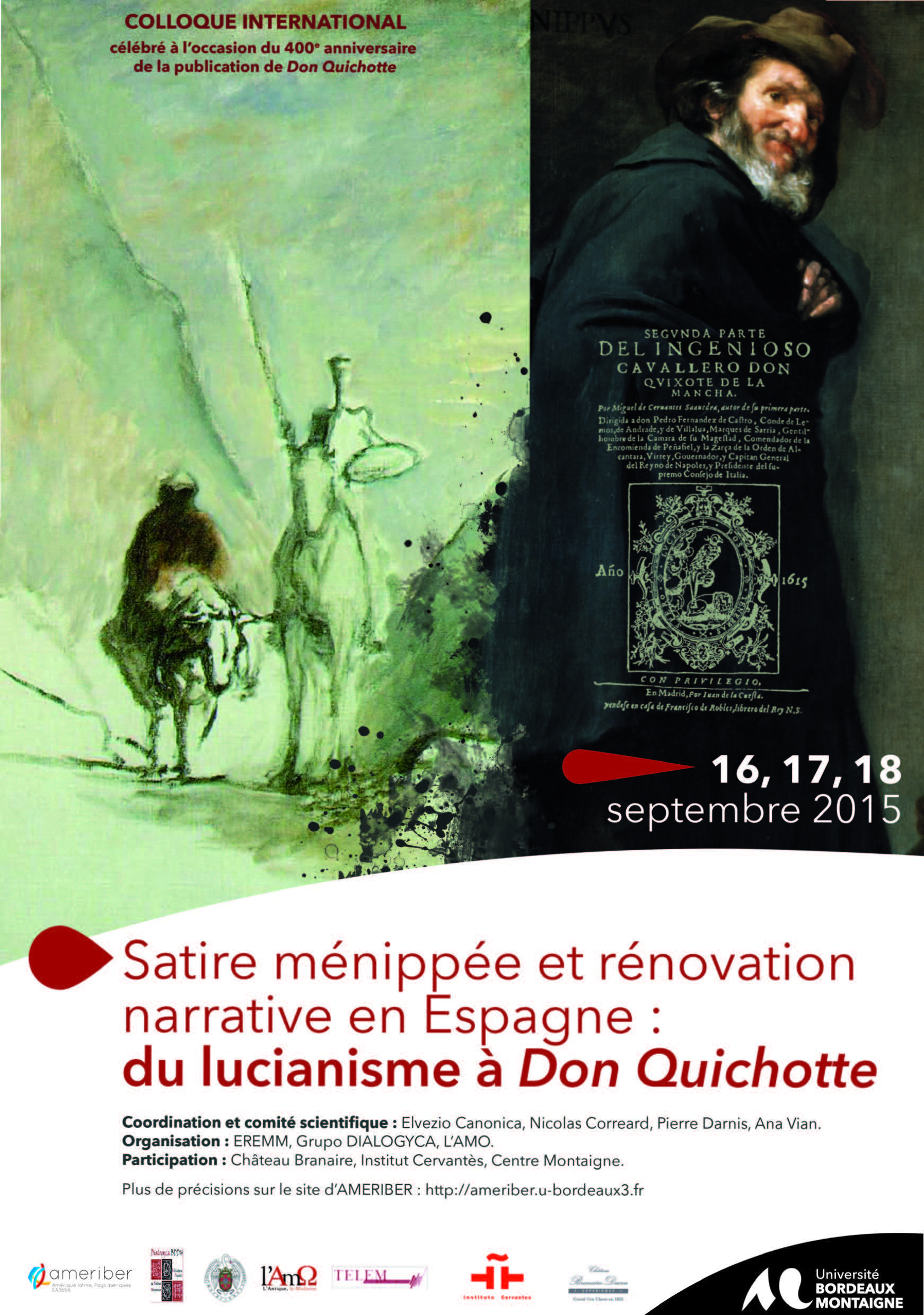 Colloque Satire ménippée Programme