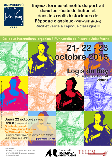 Affiche colloque portrait oct 2015
